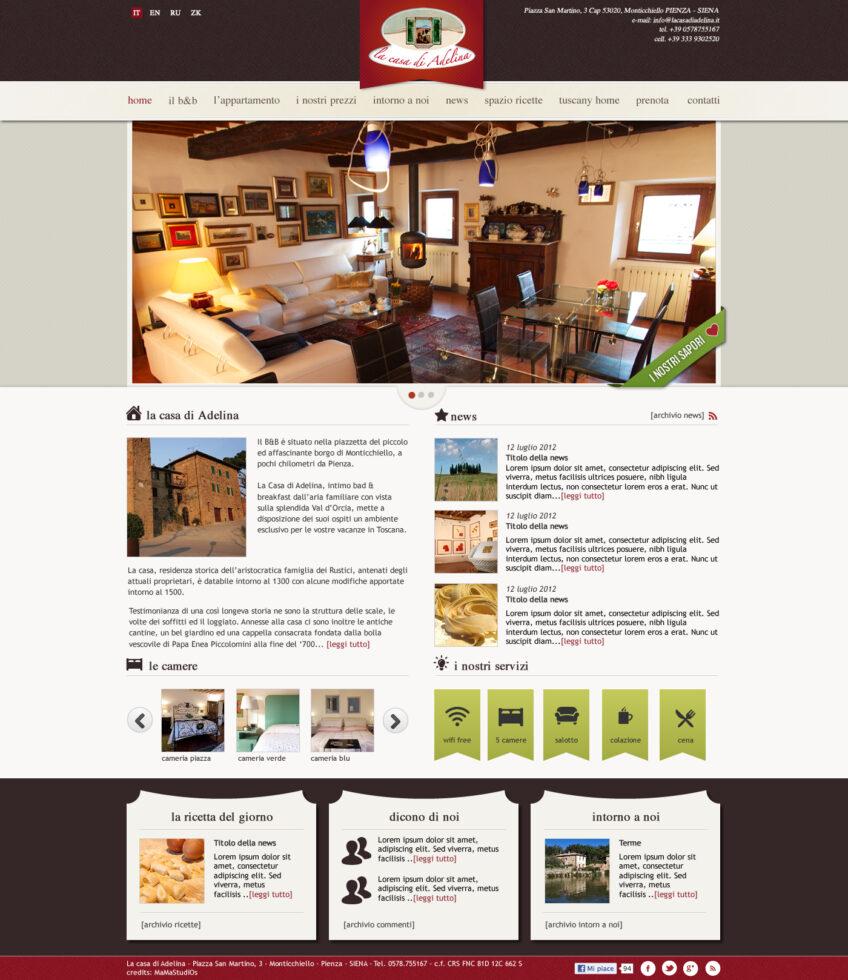 sito web per bed and breakfast