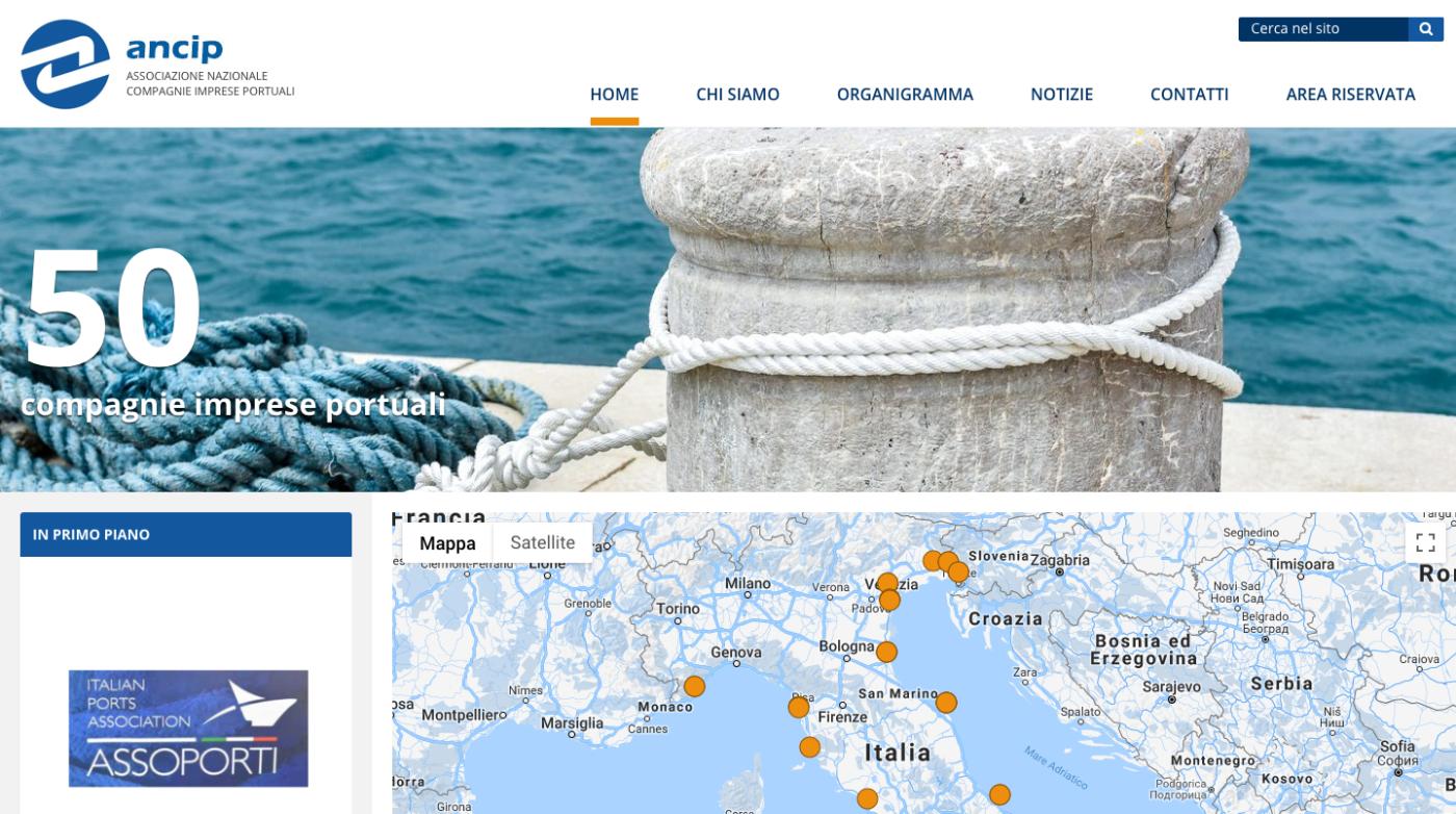 Screenshot_2018-11-02 Home – ANCIP – Associazione Nazionale Imprese Portuali